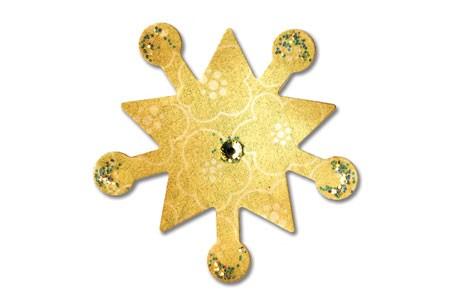 Sizzix Stanzform Sizzlits SMALL 1-er Schneeflocke # 2 / snowflake # 22 657036