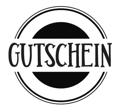 Rayher Holzstempel rund ' GUTSCHEIN ' 29-151-000