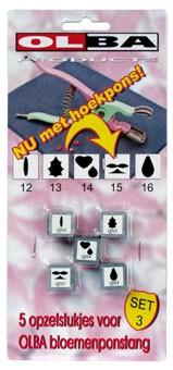 Olba Blumenzangen-Einsatz Set 3 83904