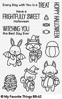 My Favorite Things Clearstempel-Set Halloween-Tiere / Frightfully Sweet BB-62