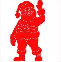 Allstar Weihnachtsmann / Santa A 10395