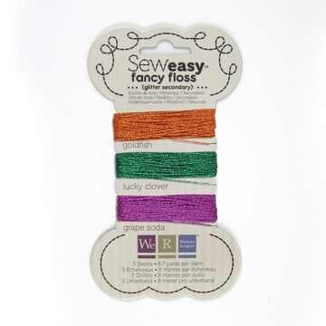 We R Memory Keppers SEW EASY Faden-Sortiment GLITTER SECONDARY 71151-3