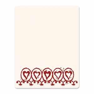 Sizzix Letterpress Platte large Circle Hearts 657071