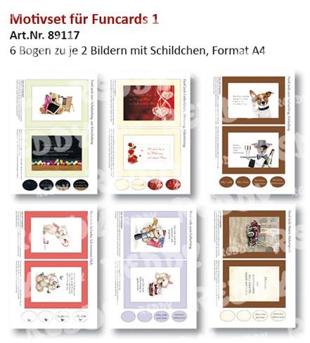 Reddy Cards Motive für FunCards 1 89117