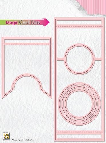 Nellie Stanzform Magic Card Kreis MCD003