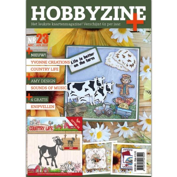 Hobbyzine Magazin Nr. 23 mit Stanzform Ziege HZ01802 ( grün )