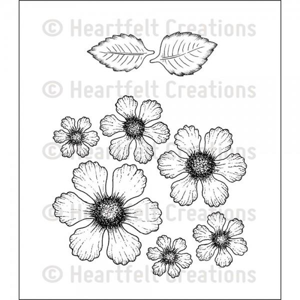 Heartfelt Creations Cling Stempel Rose / Botanical Rose HCPC-3651