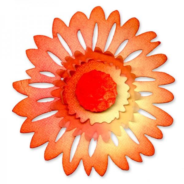 Sizzix Stanzform Sizzlits groß Blume Daisy / Flower Daisy 658502