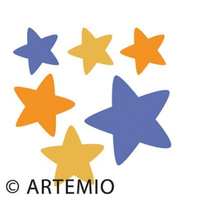 Artemio Happycut Stanzform 5,2 x 5,2 cm Sterne / stars # 2 18020008