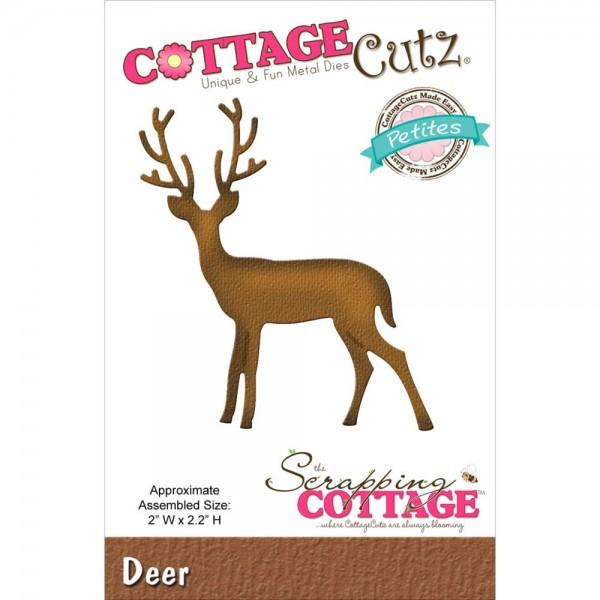 CottageCutz Stanzform Hirsch / Deer CCP-050