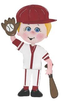 Bosskut Stanzform Baseball-Uniform / baseball uniform 0763