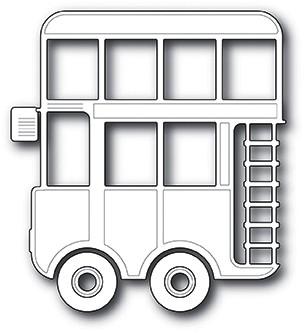 Memorybox Stanzform Doppeldecker-Bus / Double Decker 99879
