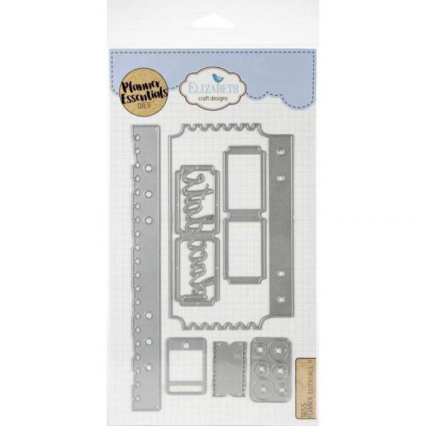 Elizabeth Craft Design Stanzform Planner Essentials 11 1655