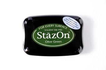 StazOn Stempelkissen oliv-grün / olive green SZ-000-051 / TSSZ5