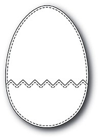 Memorybox Stanzform Osterei / Cracked Up Egg 99951