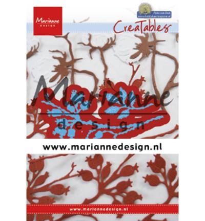 Marianne D Stanzform Creatables Zweige mit Beeren / Berries LR0628