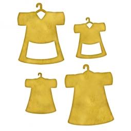 Spellbinders Embellishments Blank Dresses One MB6-002