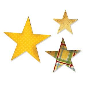 Sizzix Stanzform BIGZ Sterne / Stars 656339 / 79-553-00 / 1873 6339