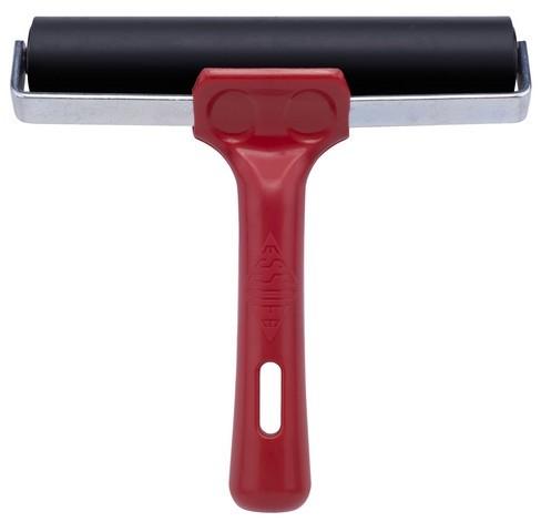 Essdee Linolwalze 15 cm schwarz mit roten Griff 340801/0150