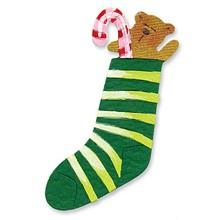 Sizzlits Socken mit Teddybär / stocking w/teddy bear 655 192