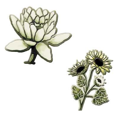 Spellbinders Stanzform Blumen / flower fusion S3-130