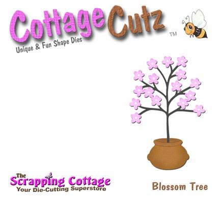 CottageCutz Stanzform Blütenbaum / blossom tree SC CC4x4-028