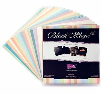 "Color Core Black Magic Cauldron Pastelltöne 12""x 12"" GX-BMAC-12"