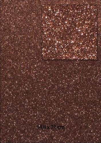 Glitterpapier A 5 B R A U N 653000/0010