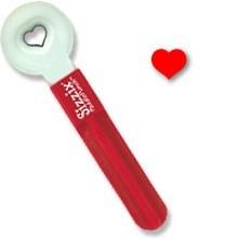 Sizzix Paddle Punch Herz # 2 / heart # 2 ( klein u. breit ) 38-0818