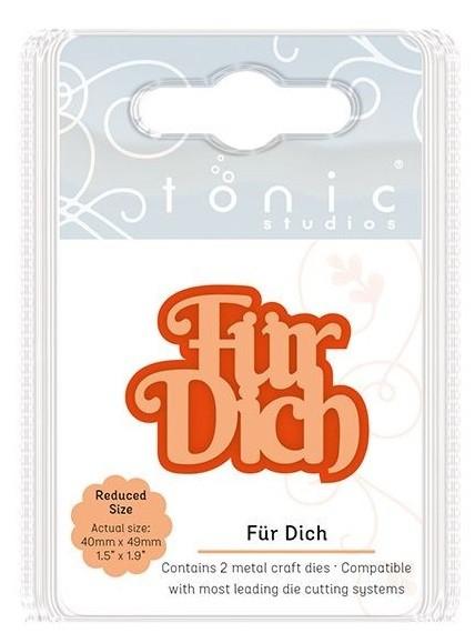 Tonic Studios Stanzform Mini Moments ' Für Dich ' 2107E