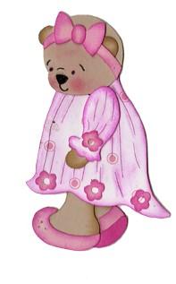 Bosskut Stanzform Nachthemd für Teddy / Rose Bud Dress 0352