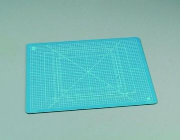 Schneidematte 22 x 30 cm DÜNN blau 114969/2230