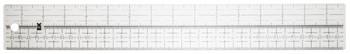 Lineal flexibel mit mittiger Einteilung aus Plastik EKPL5006