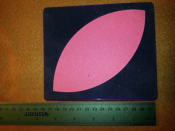 Sizzix Stanzform Originals LARGE Oval spitz / pointed oval A 38-0726