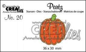 Crealies Partz Nr.19 Kürbis hoch / pumpkin CLPartz20