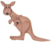 Känguruh / Kangaroo 0333