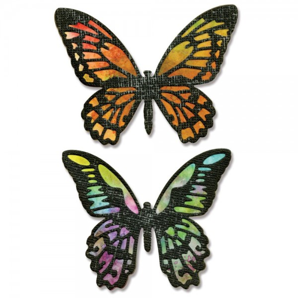 Sizzix Thinlits Stanzform Schmetterling / Detailed Butterflies 661182