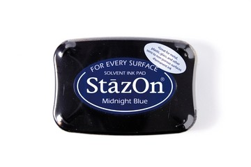 StazOn Stempelkissen dunkelblau / Midnight Blue SZ-62