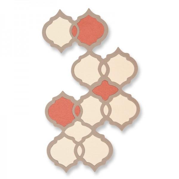 Sizzix Thinlits Stanzform Maroccan Tile 661725