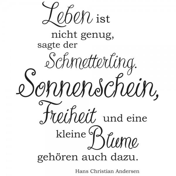 """Rayher Holz-Stempel """" Leben ist nicht genug... """" / Sonnenschein 28-978-000"""
