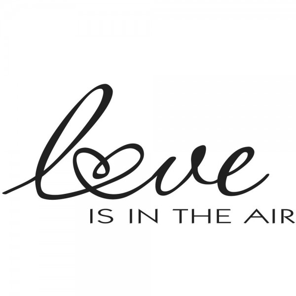 """Rayher Holzstempel """" love IS IN THE AIR """" 28-883-000"""