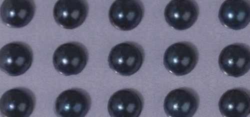 Plastik-Halbperlen selbstklebend 3 mm DUNKEL-BLAU 15-117-10