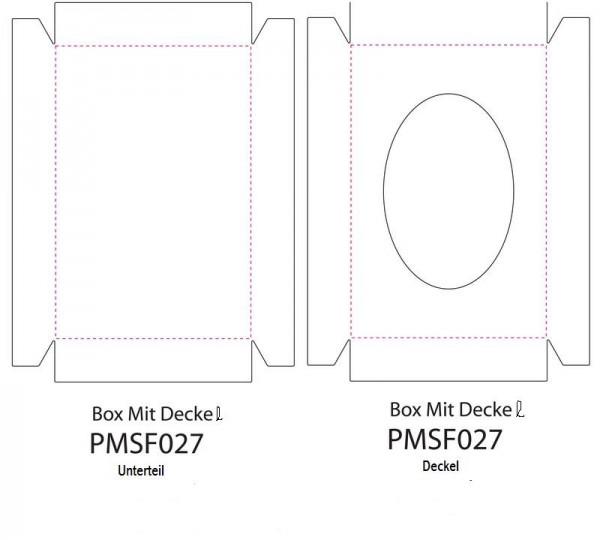 Eigendesign Box mit Deckel PMSF 027