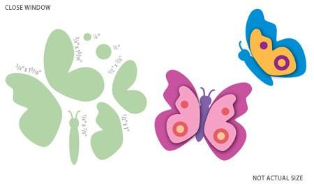 Motivstanzer Schmetterling / butterflies 92088