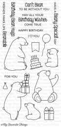 My Favorite Things Clear Stamps Birthday Bears BB-21