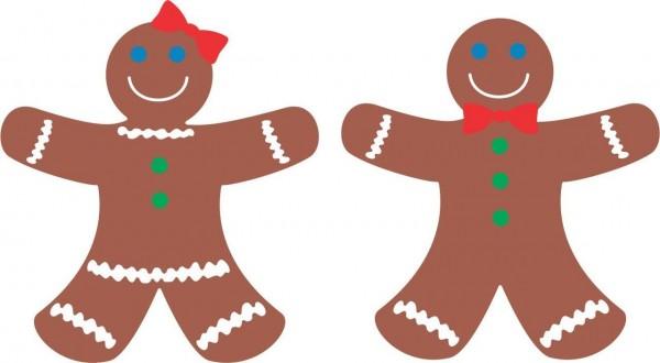 Cheery Lynn Stanz-u.Prägef. & Schablone Gingerbread QF148
