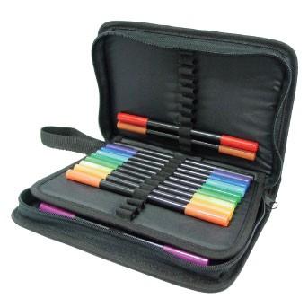 Crafts-Too Mäppchen mit Reißverschluß für 48 Stifte CTPENCASE