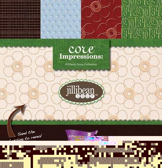 Block Core Impressions Jillibean Soup 30,5x30,5 cm GX-CI-JSOU