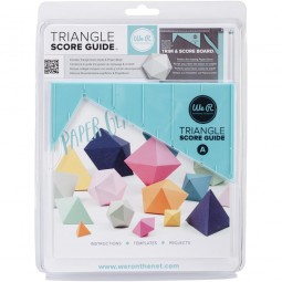 We R Memory Keepers Triangle Score Guide 71331-9