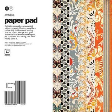 Paper Pad AMBROSIA 15,2 cm x 15,2 cm AMB-1431